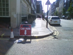 """""""Underground"""" car park?"""
